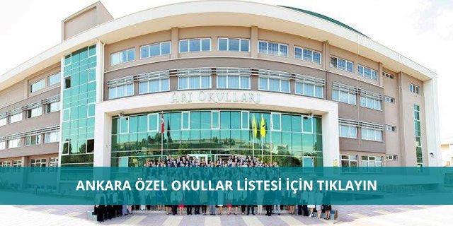 Ankara Özel Okul Fiyatları